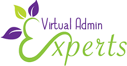 Virtual Admin Experts Mobile Logo